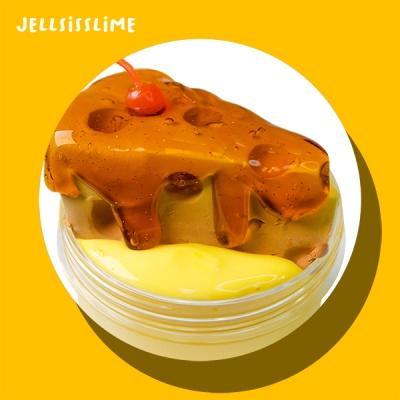 [젤시스슬라임] 치즈케이크/ 수제 글루올지글리슬라임