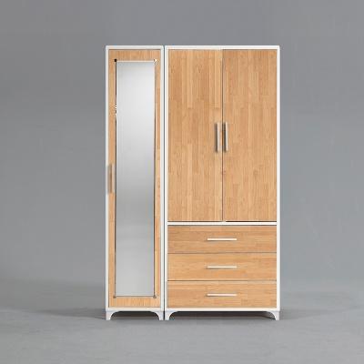 모렌 3서랍 선반 장롱세트 거울도어형 1200 (착불)