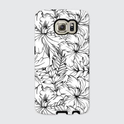 [듀얼케이스] Exotic Flower-A (갤럭시S6)