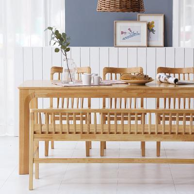 [채우리] 보그 6인 원목 식탁세트(의자/벤치)