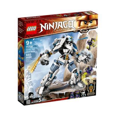 [레고 닌자고] 71738 레거시 쟌의 타이탄 로봇 전투