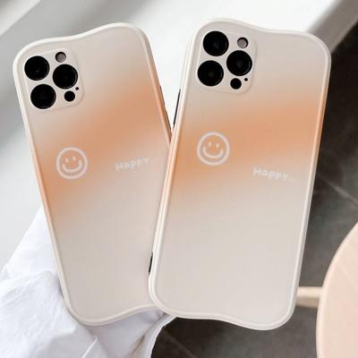아이폰 12 11 pro max se2 그라데이션 스마일 케이스