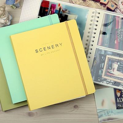 SCENERY OF LIFE MEMORY - 4x6 Photo Album ver.02 - 옐로우