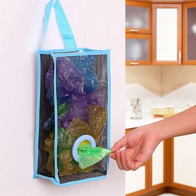걸이식 비닐봉투 정리함