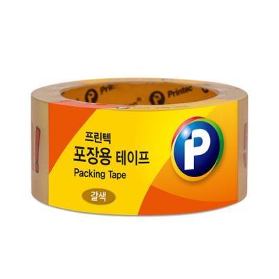 [프린텍] P4840BR_포장용 테이프/갈색/48mmx40m