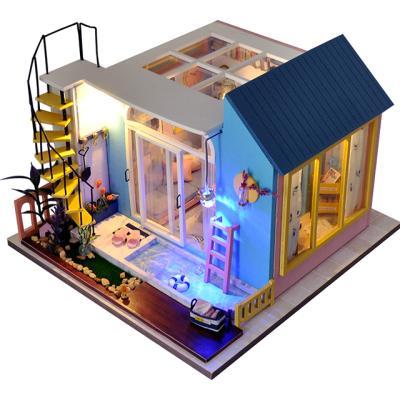 DIY 미니어처하우스 캐노피 1층