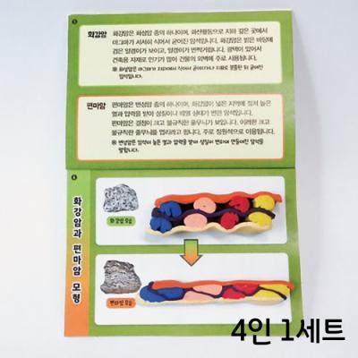 화강암과편마암모형(4인)