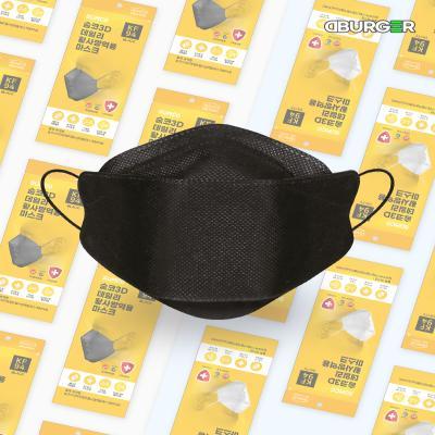 디버거 국내제조 KF-94 숨코마스크 1매 블랙