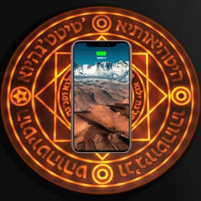 슈퍼쉘 마법진 핸드폰 고속 무선 충전기