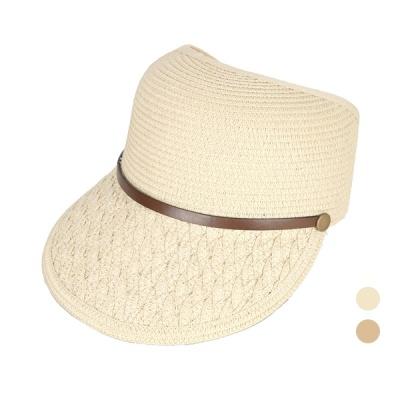 [디꾸보]띠 장식 벨크로 썬캡 모자 DCH-AC558