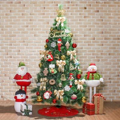 산타나라 210cm 산타선물 최고급 눈꽃 솔잎트리 풀세
