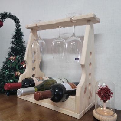 와인 303 원목 와인랙 진열장 거치대 친환경 가구