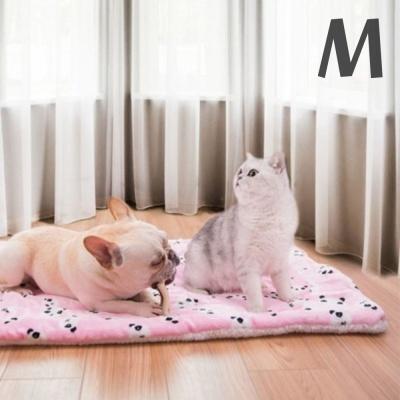 애견방석 핑크곰돌이(M)45x55xcm