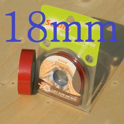국산 아크릴 점착제를 사용한-18mm*2M의 스칼라 초강력 양면 폼 테이프 HA521-6