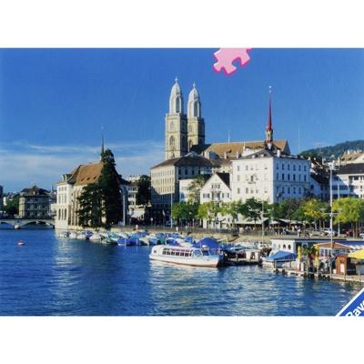 1000조각 직소퍼즐▶ 스위스 항구마을 (RA15368)