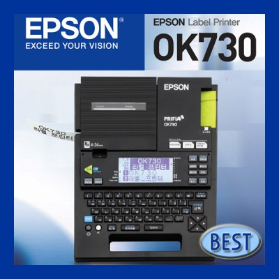 EPSON 라벨프린터 OK 730