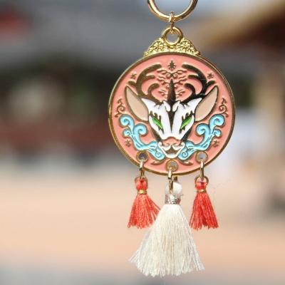 전통 영물 키링 (기린)