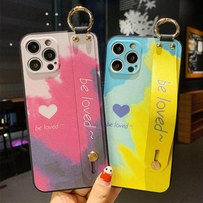 아이폰 12 미니 pro max 렌즈보호 컬러 스트랩케이스