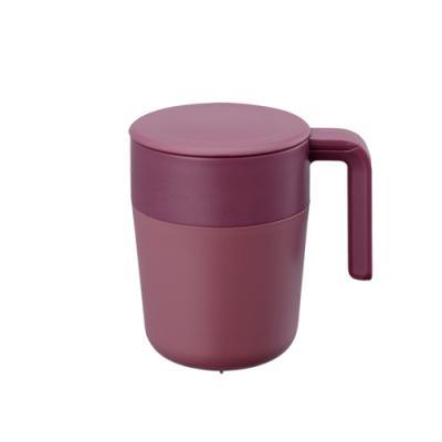 Whatcoffee킨토 카페프레스 와인레드 260ml