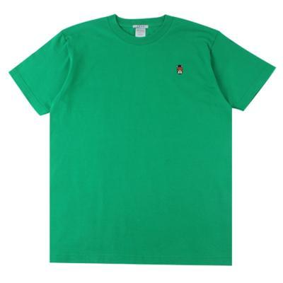 [알슨] #AR-SS003 캐릭터자수 반팔 티셔츠 (GREEN)