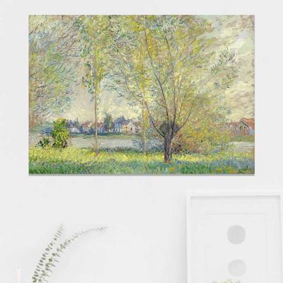 주문제작 액자 Monet The Willows 841x594x30mm