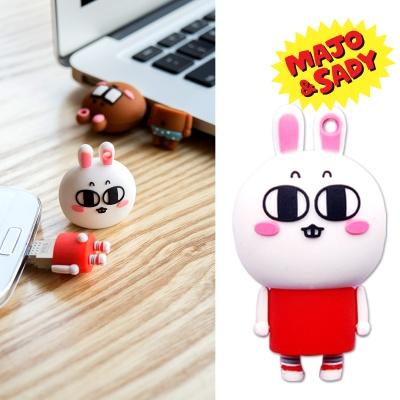 마조앤새디 실리콘 캐릭터 OTG USB 메모리 16GB