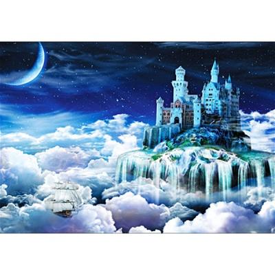 1000조각 목재 직소퍼즐▶ 하늘섬 여행 [WPK1000-23]