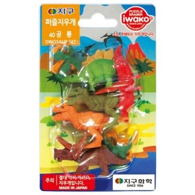 [IWAKO] 지구퍼즐지우개 40공룡 [개/1] 328476