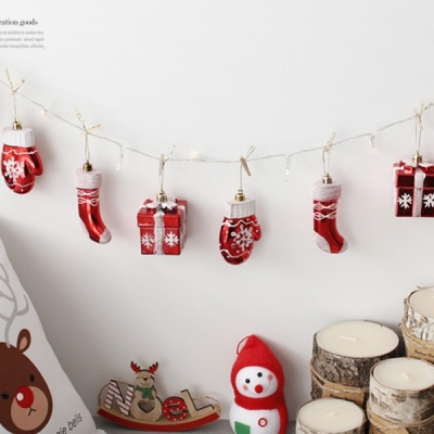 [2HOT] 크리스마스 장식 (장화 선물 장갑)