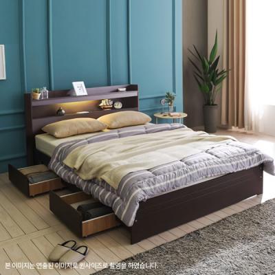 아르메 엘피노 LED 서랍형 침대 SS_밸런스 독립매트