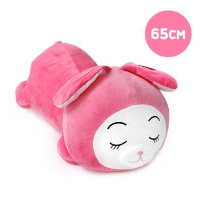 둥이둥이쿠션 핑크토끼-중형(65cm)