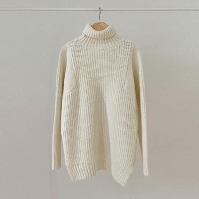 Wool Cheer Turtleneck Sweater