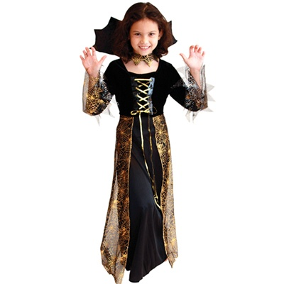 [G-0123] 배트 뱀파이어 드레스(6~8세)