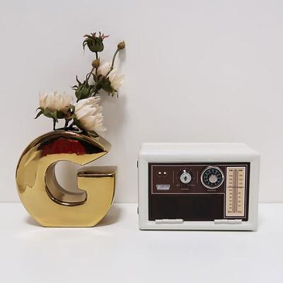 레트로 라디오 미니저금통