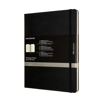 몰스킨 프로젝트 플래너/블랙 하드 XL