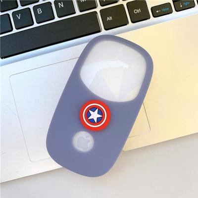애플 매직마우스 1/2 히어로캐릭터 실리콘커버 케이스