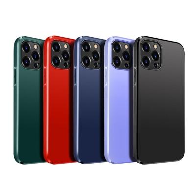아이폰12 PRO MAX MINI 매트 심플 컬러 실리콘 케이스