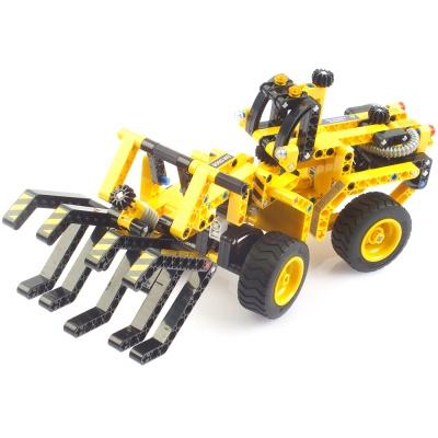 블록테크닉 휠로더 중장비 2in1 작동블록 CBT291250