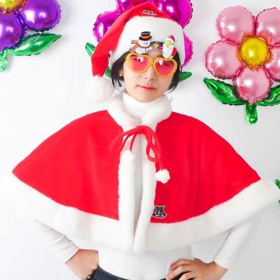러블리 산타 모자 망토세트