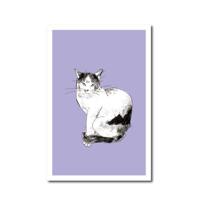 북성로 고양이 엽서 라벤더