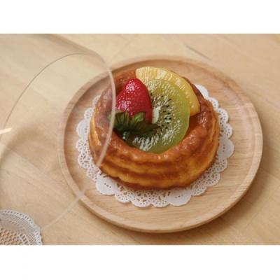 [N365] 원형 우드 접시 소 (뚜껑 별매)