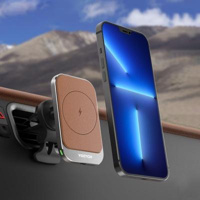 레오 M2 차량용 아이폰 맥세이프 고속충전거치대 15W