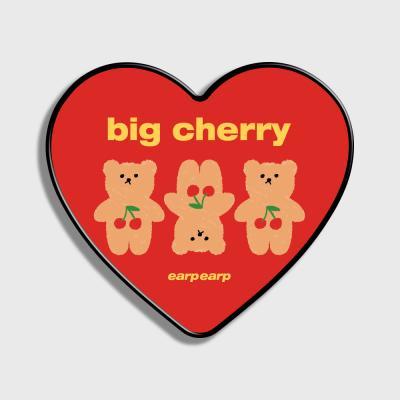 Three cherry big bear-red(하트톡)