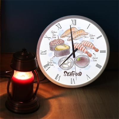 ng346-LED시계액자35R_맛있는초밥일러스트