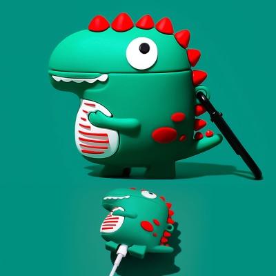 에어팟프로/1/2/3세대 귀여운 공룡 캐릭터 커플케이스