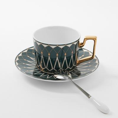 로열트리 노르딕 커피잔 세트(220ml) (그린) (쇼핑백