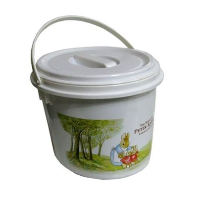 음식물 쓰레기통 거름망 잔반통 짬통 음식물통 2.5L