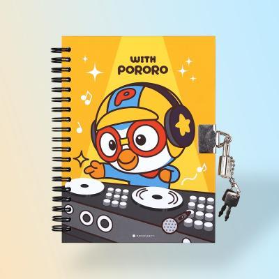 위드 뽀로로 시크릿 열쇠 비밀 일기장 뽀로로