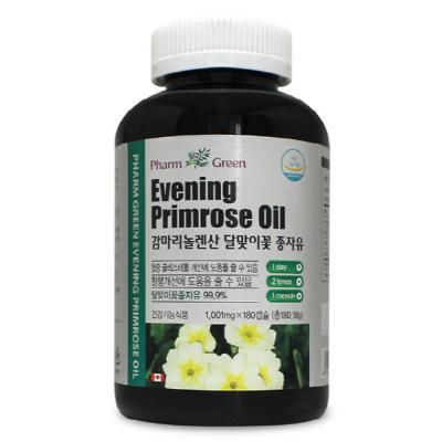 팜그린감마리놀렌산달맞이꽃종자유EPO1,000mgx180캡슐