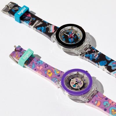 빅키드 불빛나는 어린이 전자 손목시계